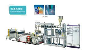 Stationery Sheet Extrusion